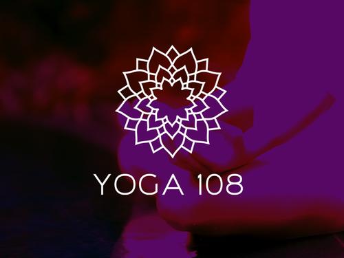 Pilates logo with the title 'Logo for Yoga Teacher Training '