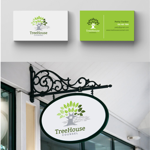 Signage logo with the title 'TreeHouse Counsel'