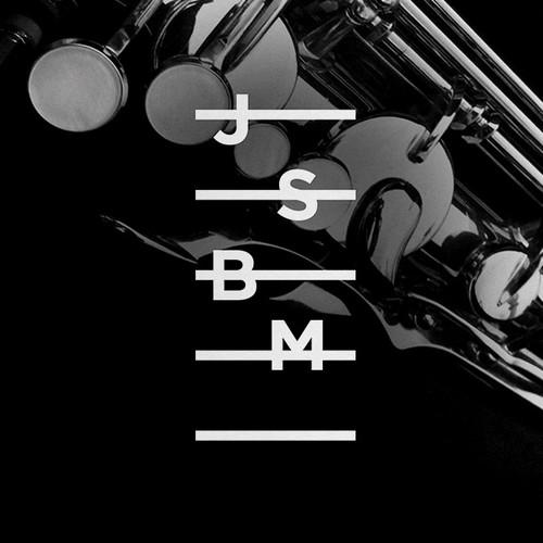 Instrument design with the title 'Johann Sebastian Bach Musikschule'