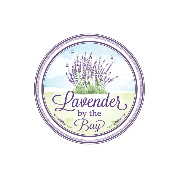 Lavender logo with the title 'Lavender By the Bay needs a new logo'
