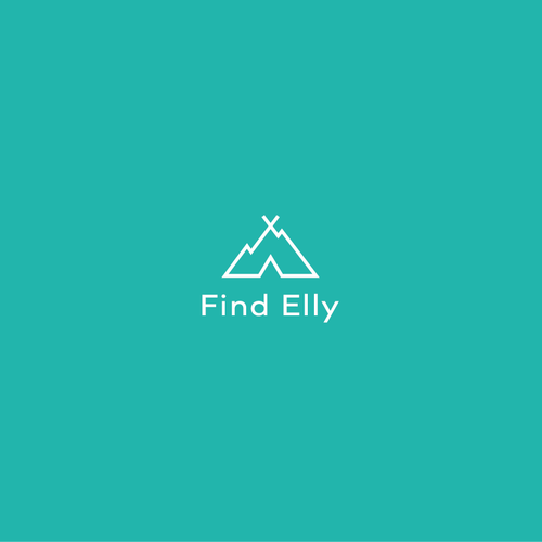 Campfire logo with the title 'Find Elly Logo'