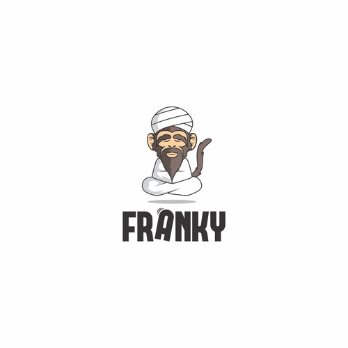 Master design with the title 'Franky'