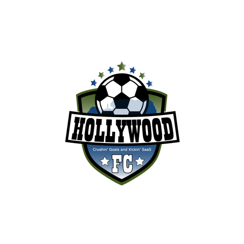 Hollywood logo with the title 'HOLLYWOOD FC'