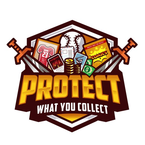 Comics design with the title 'Protect What You Collect'