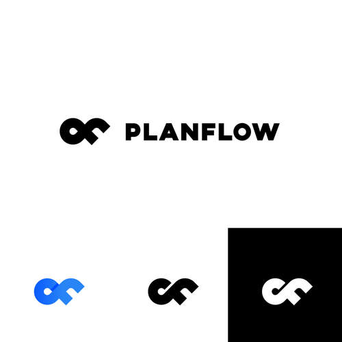 Flow design with the title 'Logo for scheduling and planning software'