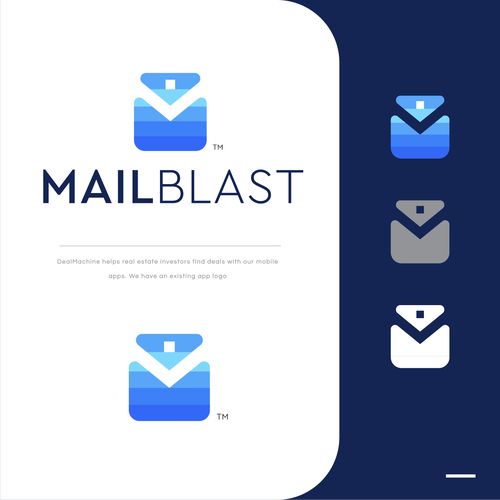 Mail design with the title 'MailBlast'