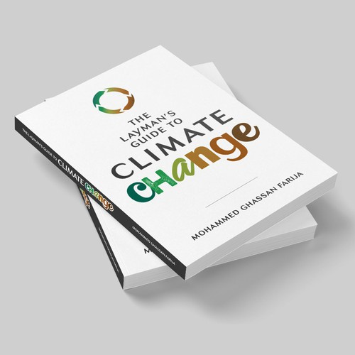 """Climate design with the title '""""Climate Change"""" book cover design'"""