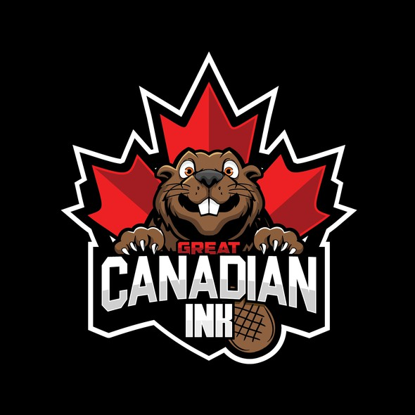 Character logo with the title 'GREAT CANADIAN INK'