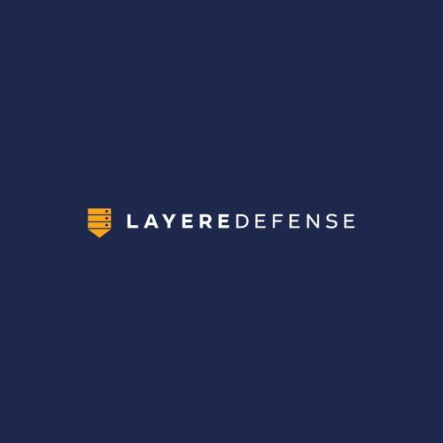 Antivirus logo with the title 'LayereDefense Logo'