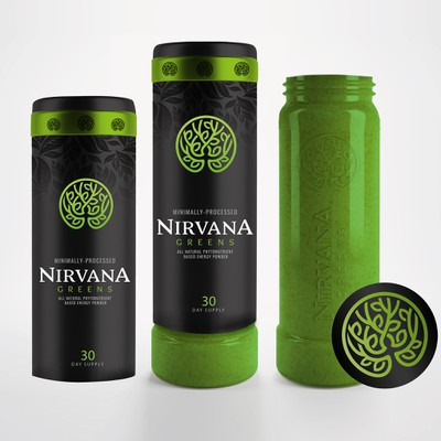 Unique packaging for Nirvana Green