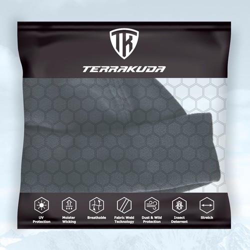 Custom packaging with the title 'TerraKuda Package'