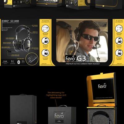 premium box for high end aviation headset