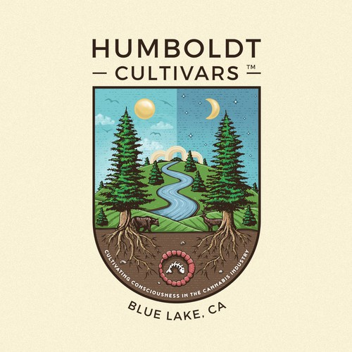 Mystic design with the title 'Humboldt Cultivars '