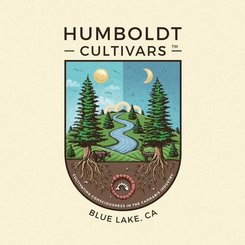 Crest design with the title 'Humboldt Cultivars '