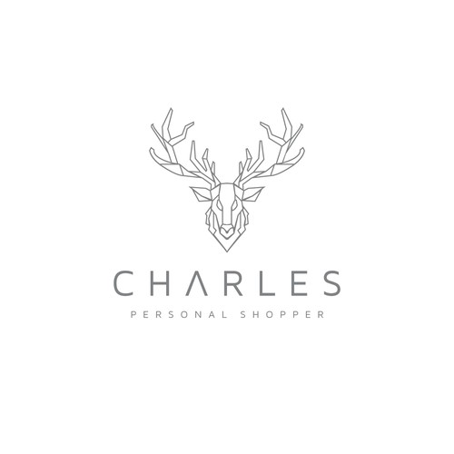 Elk logo with the title 'Charles Personal Shopper'
