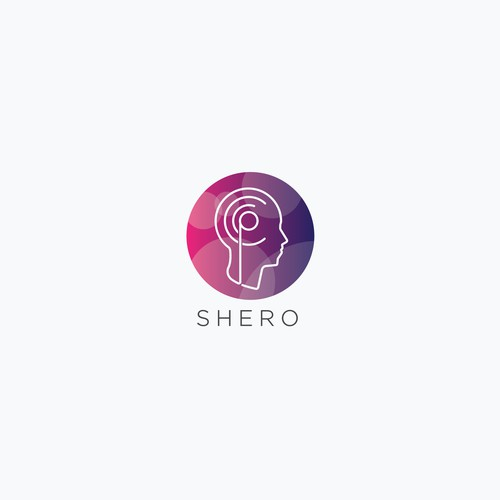 Circle logo with the title 'Logo for a startup company'