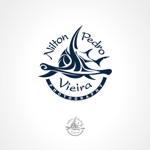 "Marine logo with the title 'Photography logo - ""watermark""'"