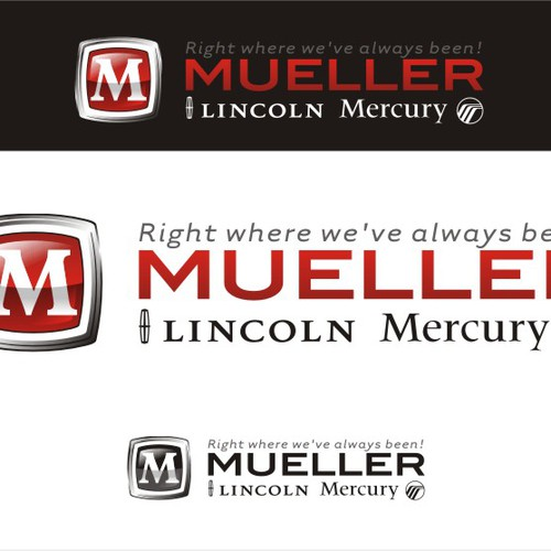 Dealer logo with the title 'Mueller Lincoln Mercury'