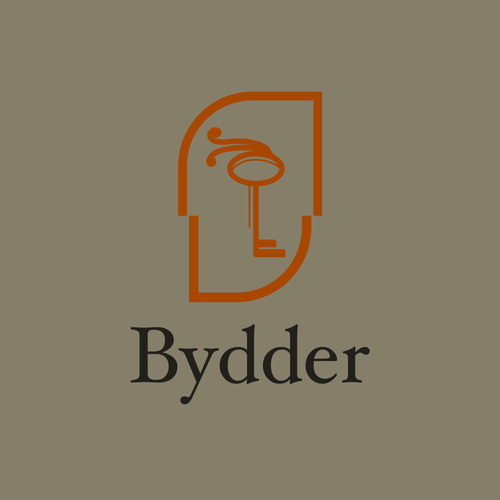 Sketching logo with the title 'Logo for Bydder'