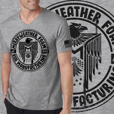 72 year old USA Based Foam Factory Needs new T-shirt Design (Retro and American Pride))