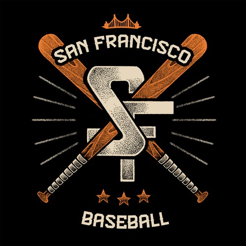 San Francisco design with the title 'San Francisco Baseball'