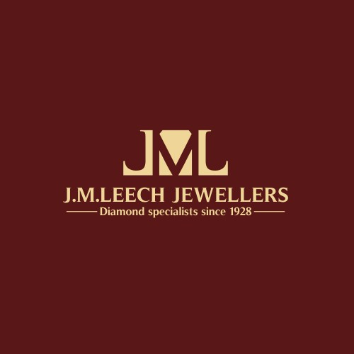 Symmetrical logo with the title 'Symmetrical logo for jewellery retailing'
