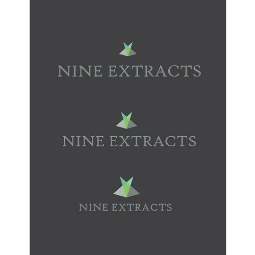 Nine design with the title 'Nine Extracts '