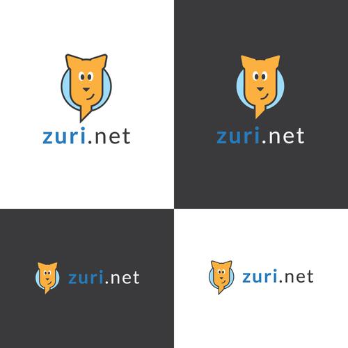 Tourism logo with the title 'Zuri logo'