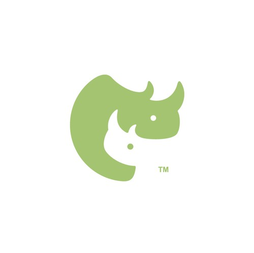 Mom logo with the title 'BabyRhinoCo'