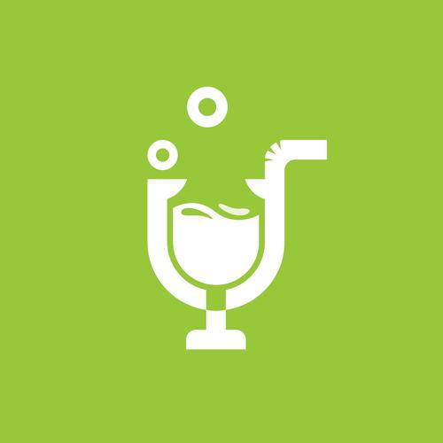 I logo with the title 'IZ Juice'