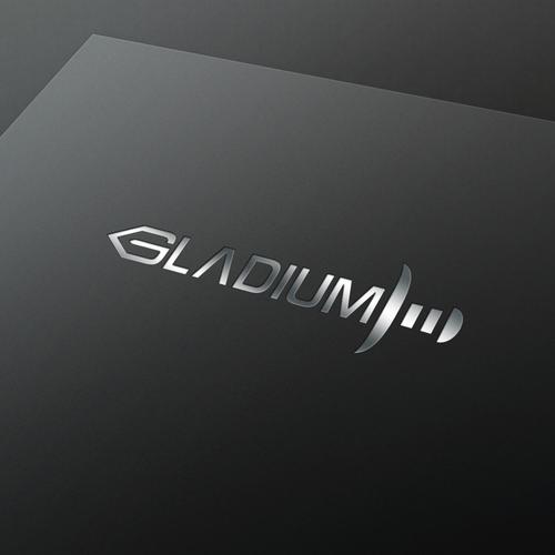 Gladiator design with the title 'Gladium'