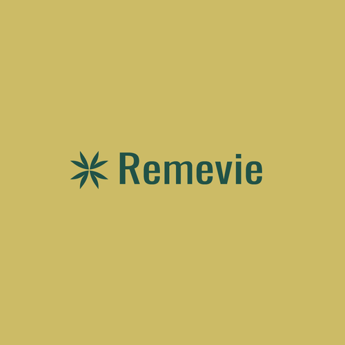 Botanical design with the title 'Remevie'