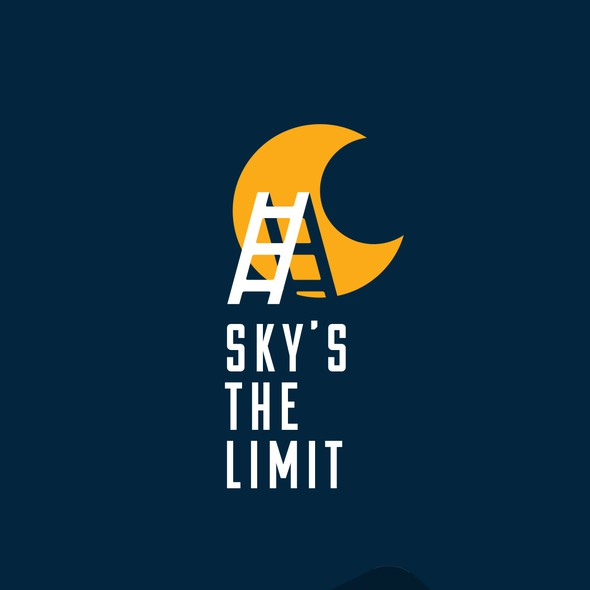 Ladder design with the title 'Sky's the limit'