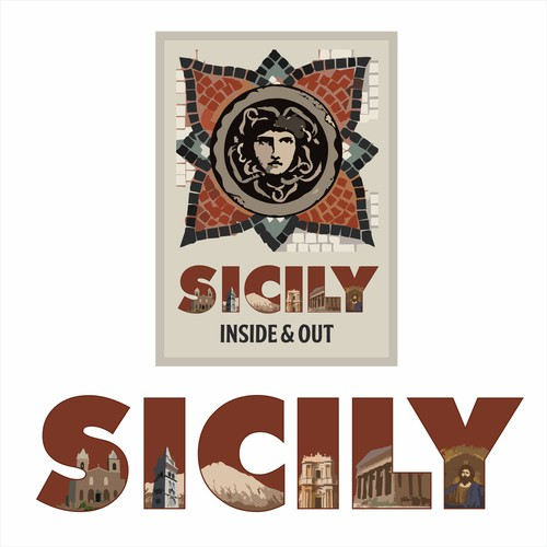 Italian logo with the title 'Sicily Inside & Out'