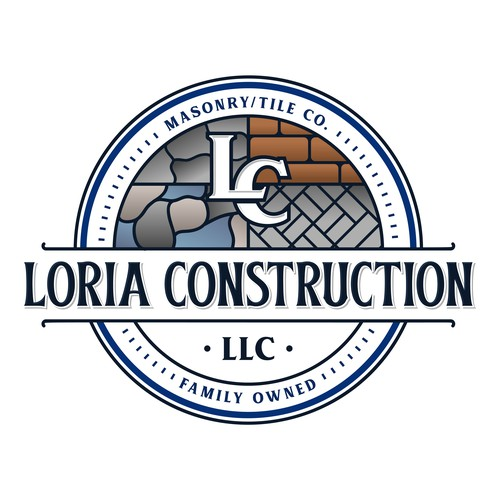 Tile design with the title 'Loria Constructiom LLC'