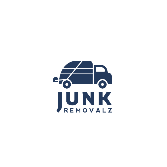 Junk design with the title 'Junk Removalz Logo'