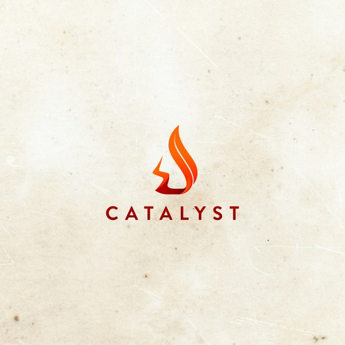 Edgy brand with the title 'Catalyst Logo'