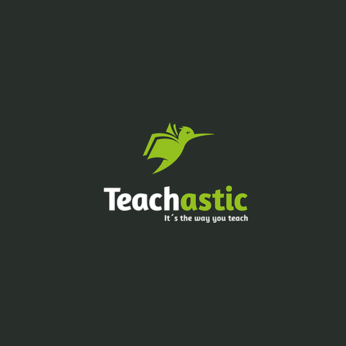 """Student logo with the title 'Teachastic - """"it´s the way you teach""""'"""