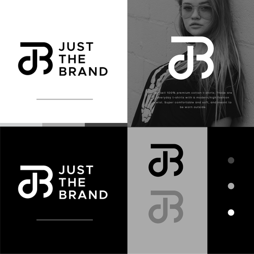 B logo with the title 'Just The Brand'
