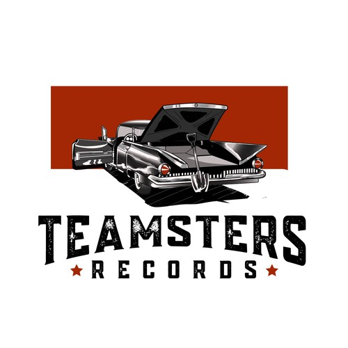Gothic logo with the title 'Teamster record'