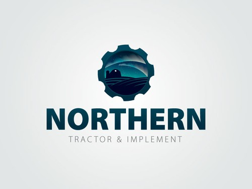 Machinery logo with the title 'Northern Tractor & Implement'