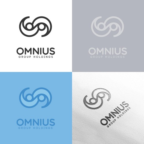 Unity logo with the title 'Logo concept for for a diverse business group'