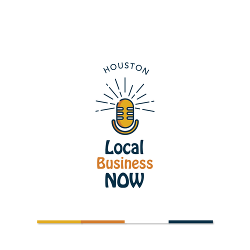 Houston design with the title 'Local Business Now '