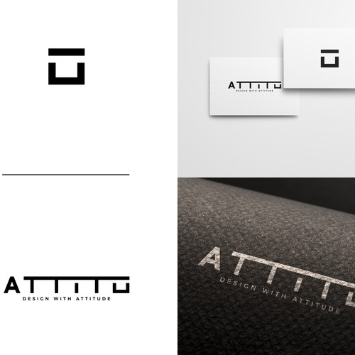 Retail logo with the title 'Attitu Logo'