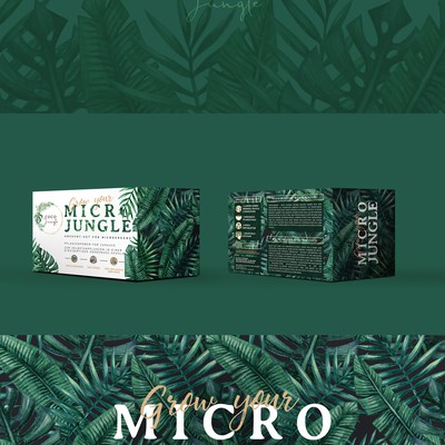 Packaging design MICRO JUNGLE