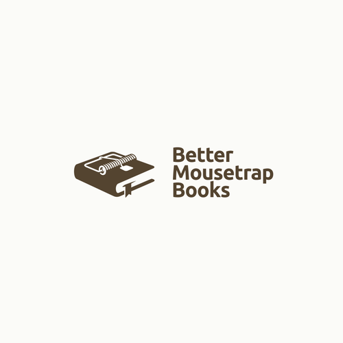 Novel logo with the title 'Better Mousetrap Book'