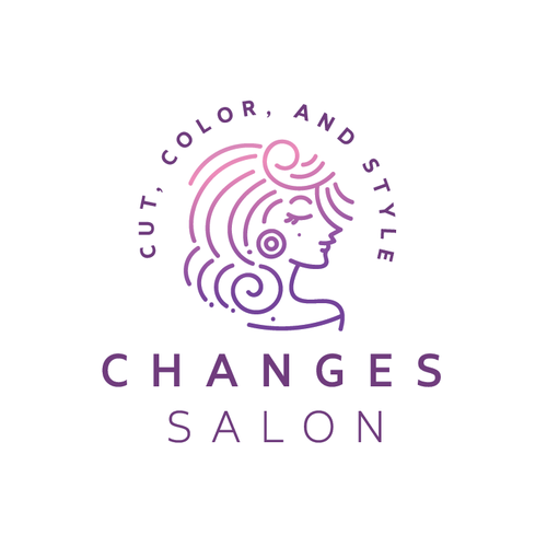 Simple logo with the title 'Changes Salon'