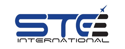 Aerospace logo with the title 'STE International'