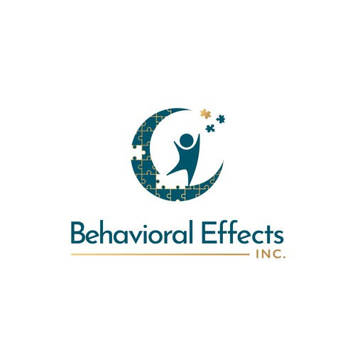 Psychology design with the title 'Logo Behavioral Effects Inc'