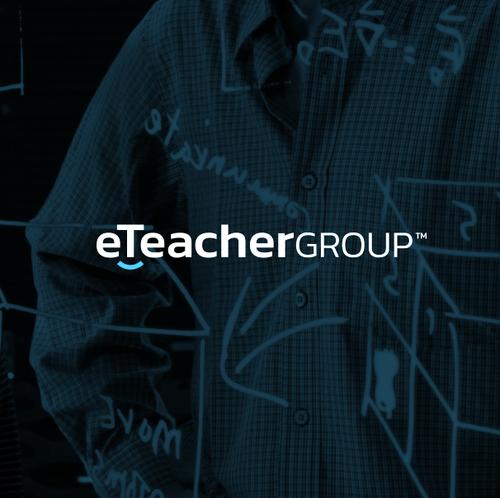 Teacher design with the title 'online schools worldwide'